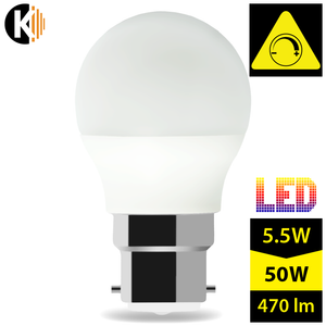 LED B22 G45 5,5W 2700k Warm White Dimmable MILK LUMI Bulb