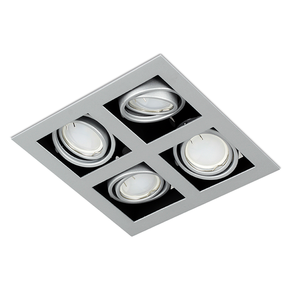 Recessed Downlight Fittings in Set of 10 OH44