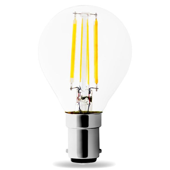 LED B15 G45 4W 2700k Warm White Filament LUMI Bulb