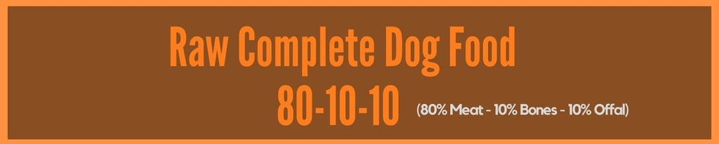 Complete Raw 80-10-10 dog food
