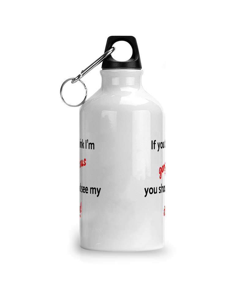 Aluminium Sports Water Bottle Gorgeous