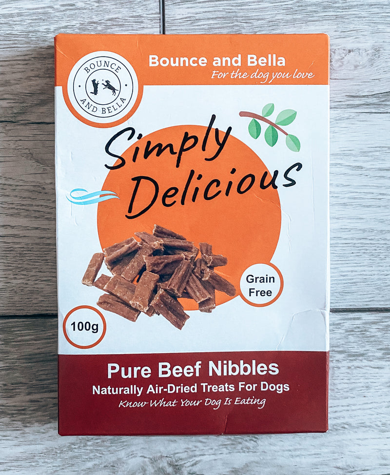 Pure Beef Nibbles – Just One Ingredient