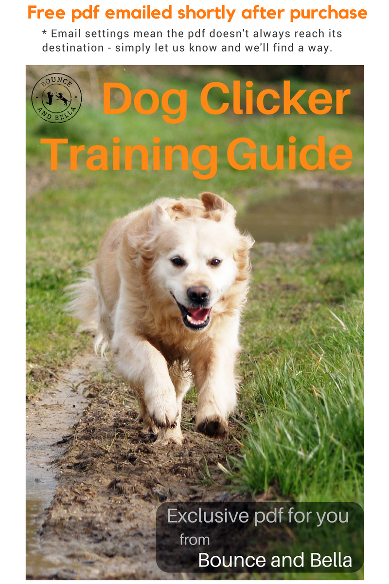 Dog Clicker with Poultry Treats for Training