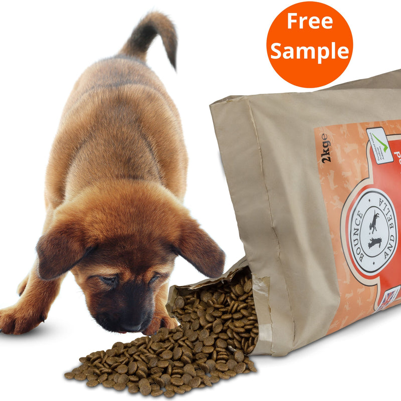 grain free healthy puppy food chicken free sample