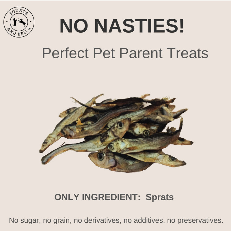 Premium Baltic Sprats Dog Treats