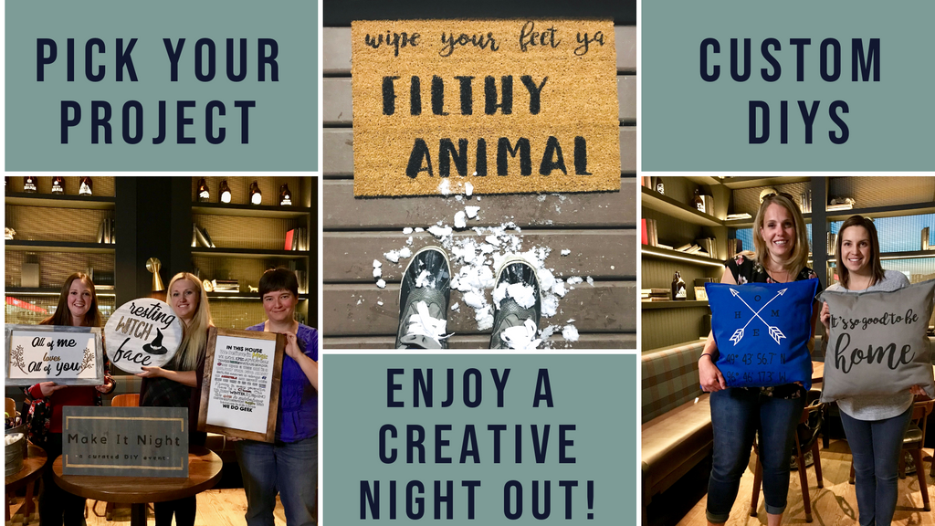 Avenida  Food Hall- Pick Your DIY Project-  March 28th @ 6pm