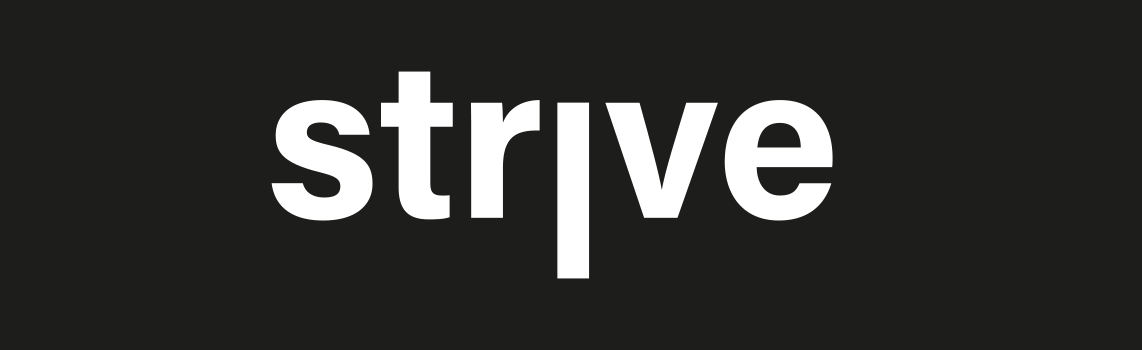ecoterra strve logo banner white on black