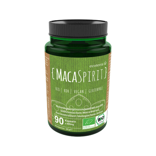 MACA SPIRIT - THE KALLAWAYA WAY - 90 x 500mg Kapseln (45g Maca) BIO