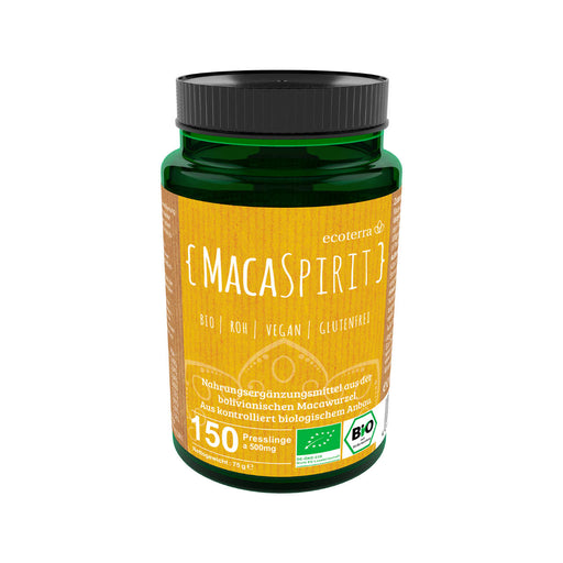 MACA SPIRIT - THE KALLAWAYA WAY - 150 x 500mg Presslinge (75g) BIO