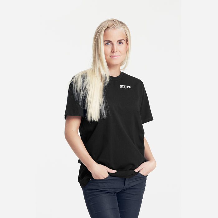 STRVE x Neutral Black UNISEX Tee | Bio | Fairtrade