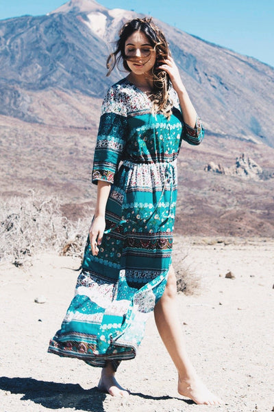 Desert Spell Bohemian Maxi Dress