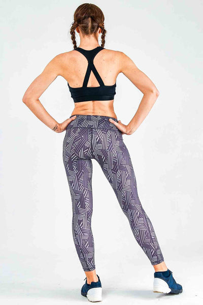 Geometric Print Leggings