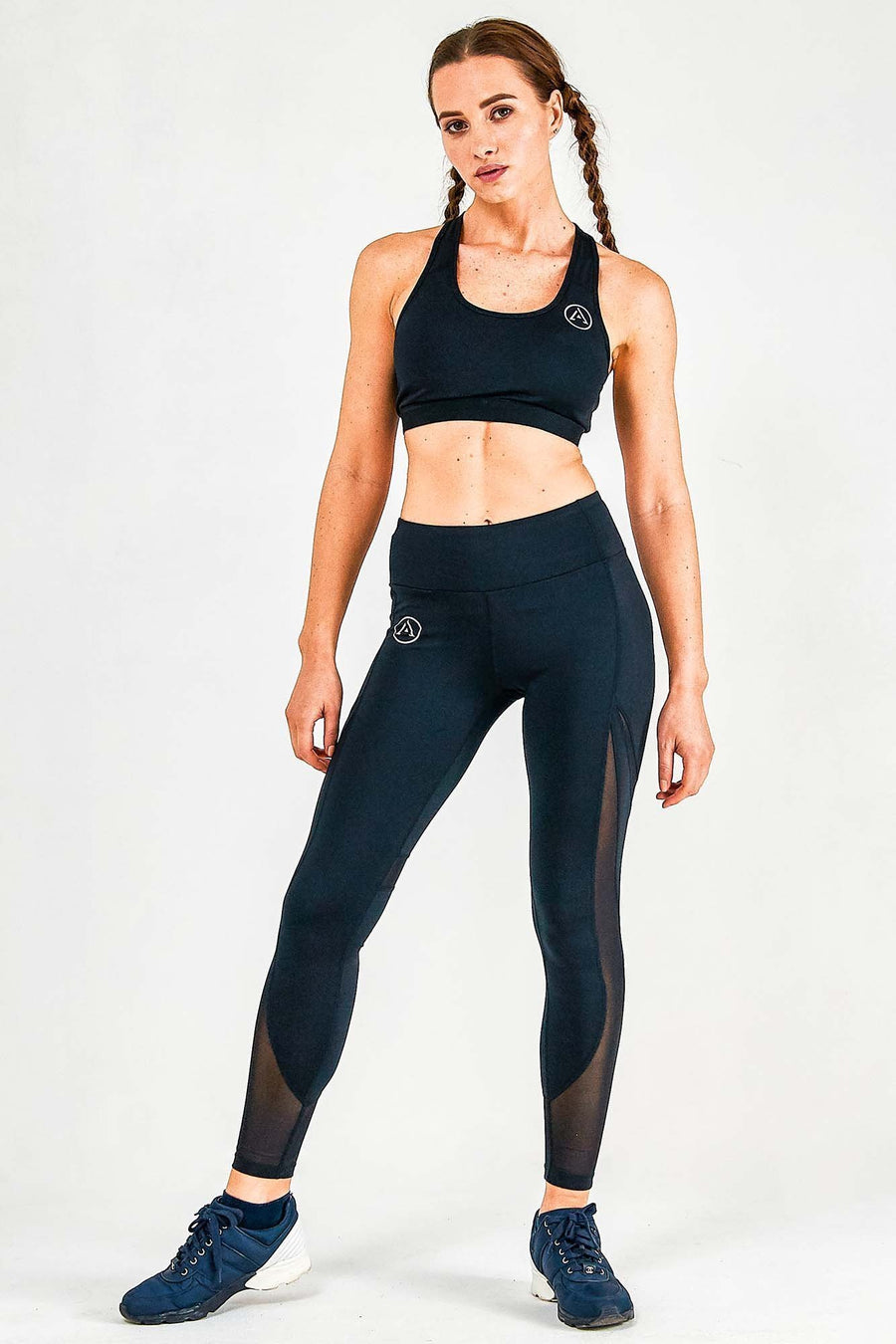 Mesh Panel Leggings