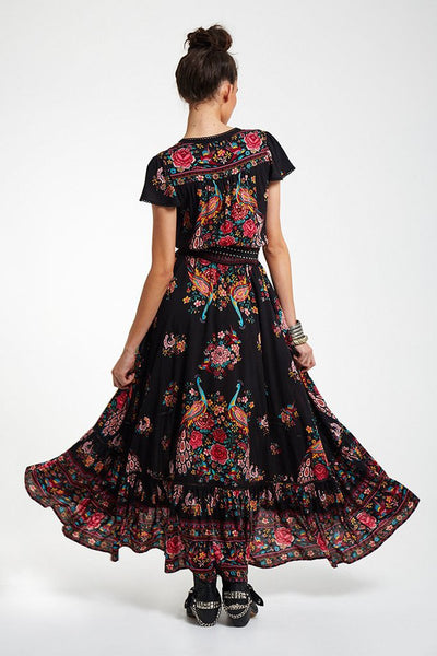 Peacock Gypsy Dress