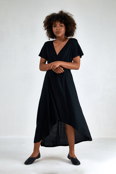 Venus V Neck Maxi Dress