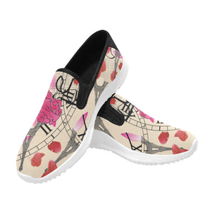 Open image in slideshow, Pre-Order - AMMA JO Sport Paris Amour Slip On Walking Shoes