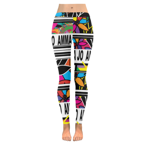 AMMA JO STREET Low Rise Leggings