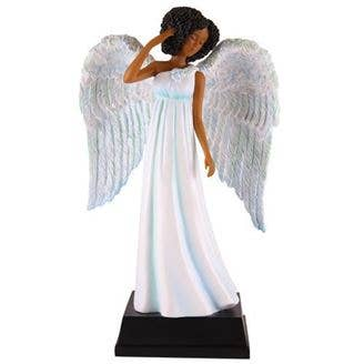 Figurine - Holiday Blue Angel