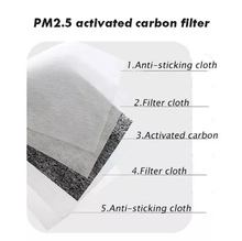 IN STOCK - (Set of 2) Black Face Masks with Respirator and PM 2.5 Filter