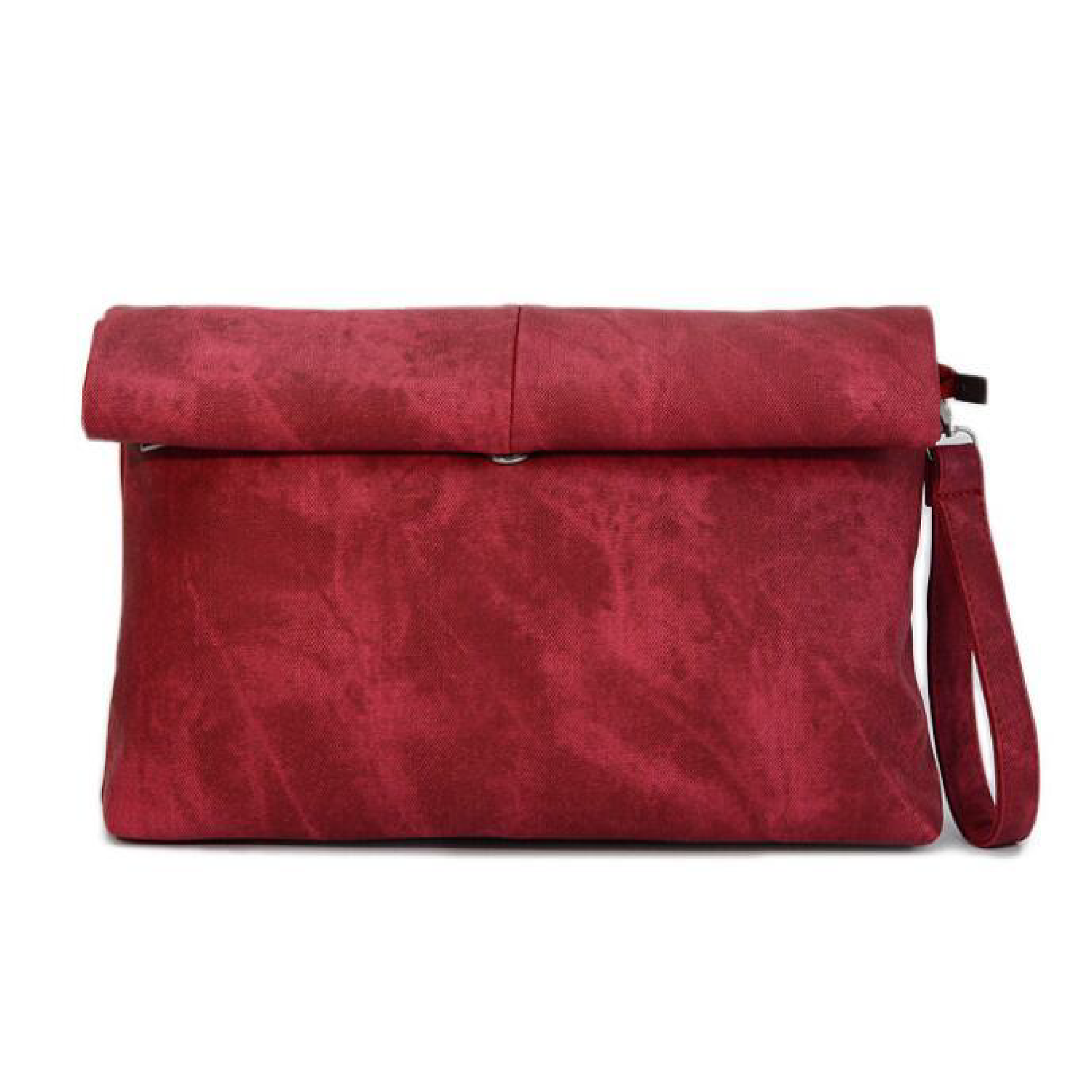 "MADELYN BLAIR ""The Classic"" Roll Up Clutch- Fall Rose"