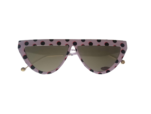 AMMA JO Polka Dot Throwback Shades