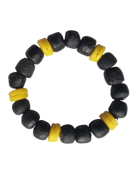 Black and Yellow Bella Africa Bracelet