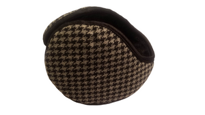 Open image in slideshow, Houndstooth Wrap Earmuffs