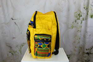 Bella Africa Bookbag - Yellow