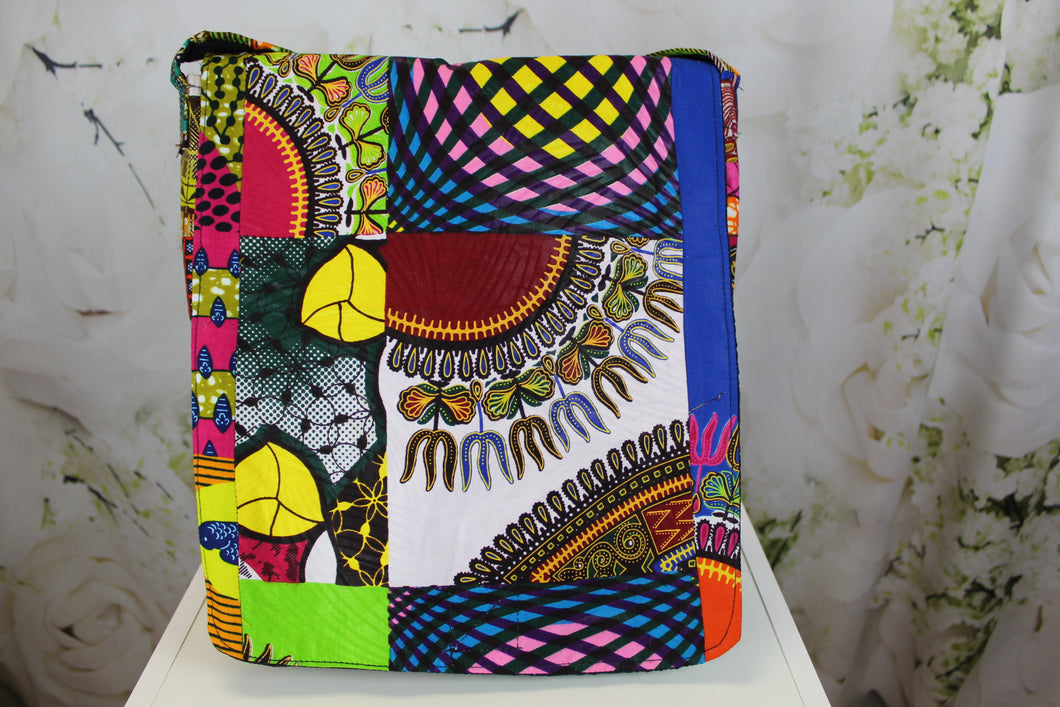 Bella African Cross Body Bag - Multi 2