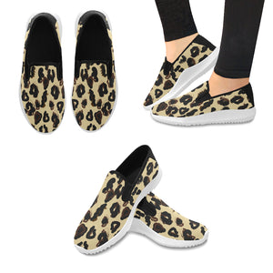 Open image in slideshow, AMMA JO Sport Cheetah Slip On Shoes