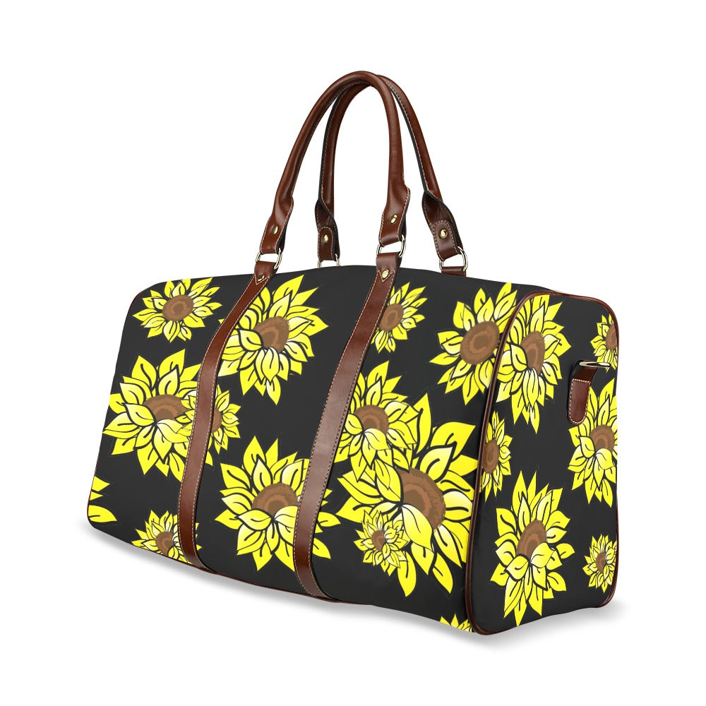 ARRIVES 3/1 - AMMA JO Sunflower Waterproof Duffle