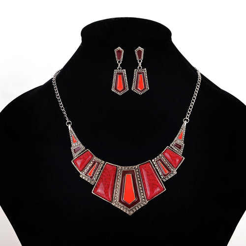 AJS Crimson Queen Jewelry Set