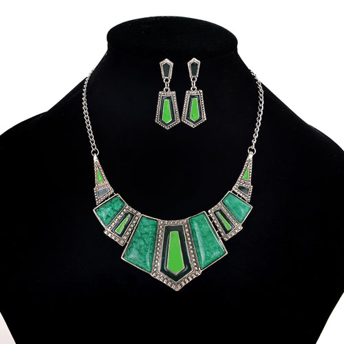 AJS Emerald Queen Jewelry Set