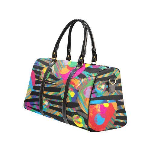 Wild Flower Duffle / Travel Bag