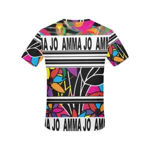 AMMA JO STREET TEE All Over Print T-Shirt for Women