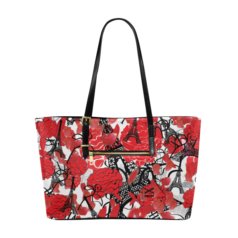 AMMA JO Holiday in Paris En Rouge Tote Bag