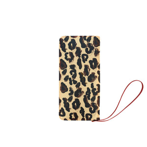 AMMA JO CHEETAH Clutch Wallet