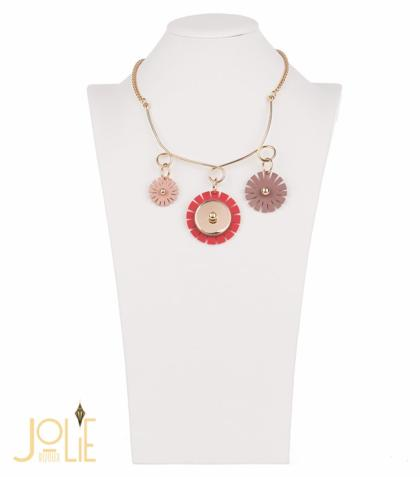 AMMA JO BELLISSIMO Florita Necklace Red Gold