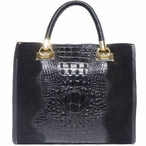 2020 MODA Lady Tote - Black (Made in Italy)