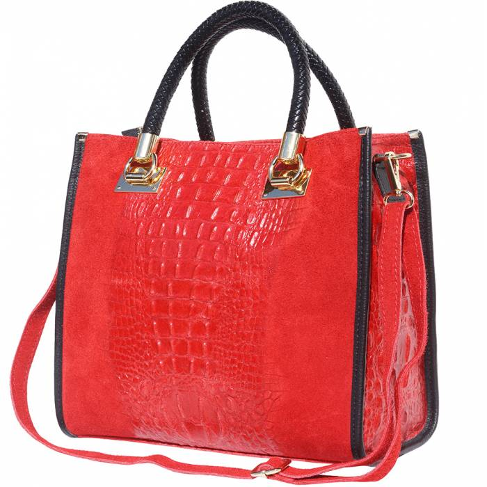 2020 MODA Lady Tote - Red (Made in Italy)