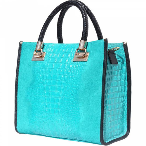 2020 MODA Lady Tote - Teal (Made in Italy)