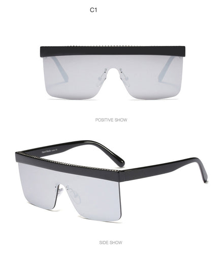 AMMA Pop Star Mirror Sunglasses
