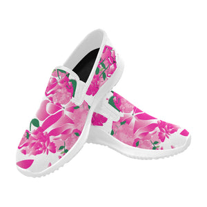 Open image in slideshow, Pre-Order - AMMA JO Sport Peony Slip On Walking Shoes