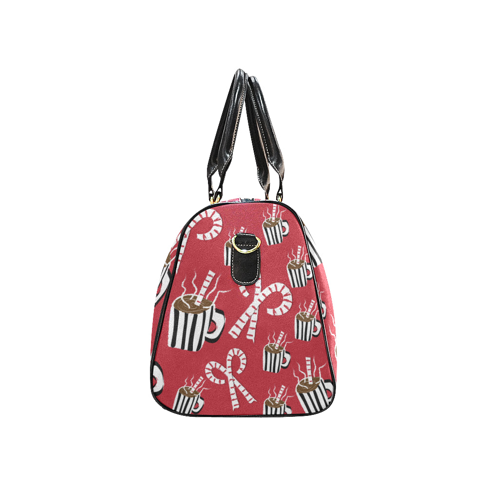 AMMA JO Cocoa and Candy Canes Duffle