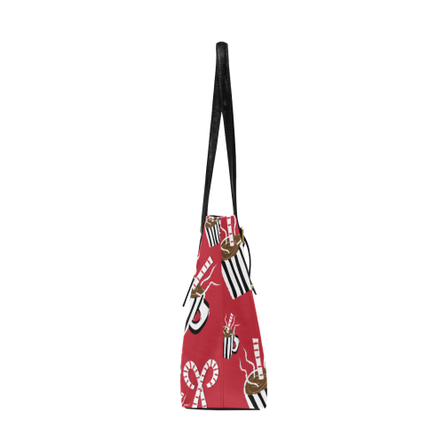 AMMA JO Cocoa and Candy Canes AMMA JO HOLIDAY TOTE