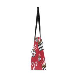 Cocoa and Candy Canes AMMA JO HOLIDAY TOTE