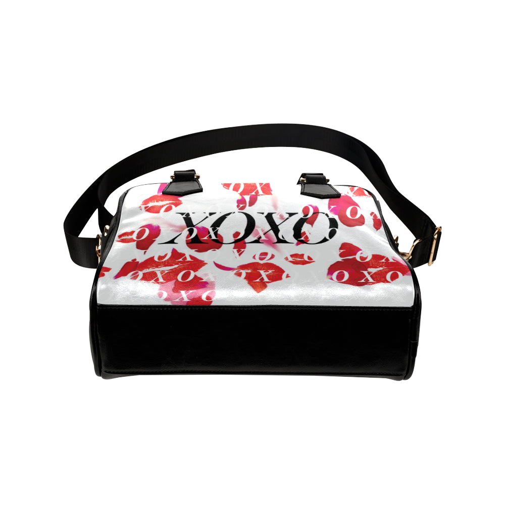 XOXO Kisses and Petals White MINI BAG Shoulder Handbag