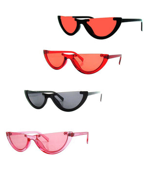 Open image in slideshow, Trending Item: Half Moon SHADES