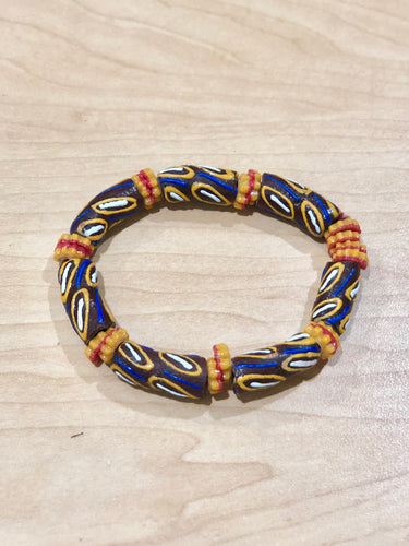 Brown and Yellow Bella Africa Bracelet