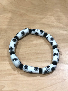Black and White Bella Africa Bracelet